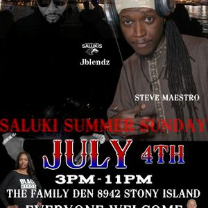 First Sunday Vibes-July 4th Edition-@ The Family Den