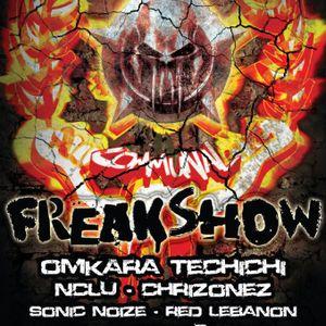 Sonic Noize @ Communal Freakshow 26-10-12