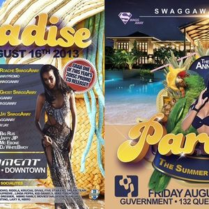 Paradise 2K13 CD [Aug 16 @ Guvernment]