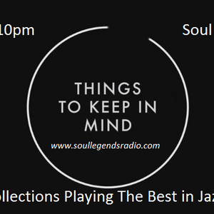 The Monday Soul Collections on Soul Legends Radio 28-03-16