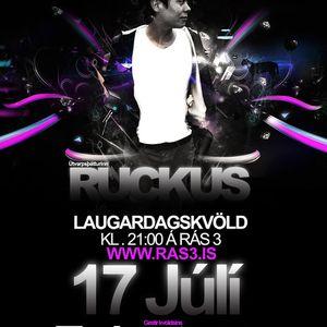 1 hour mix for Ruckus @ Ras3 Radio (Iceland)