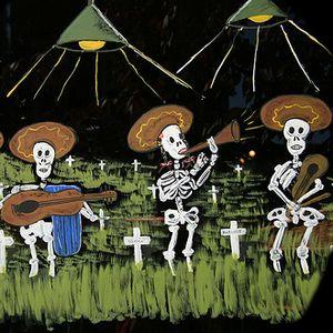 Halloween & Day of the Dead / Dia de los Muertos show - ghosts, witchdoctors, vampires++ 26 Oct 2012