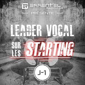 Leader Vocal sur les starting #J-1