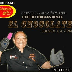 """Desde la tercera cuerda entrevista al Referee """"El Chocolate Amargooooo"""" en el marco de sus 30 años e"""