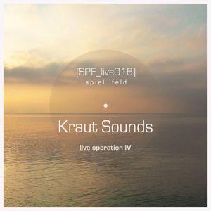 [SPF_live016] spiel:feld´s live operation with ... Kraut Sounds ● live operation IV