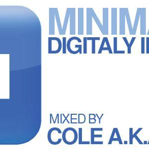 DJ Cole a.k.a. Hyricz - Minimatica vol.454 (24.01.2016) Digitally Imported Radio (www.di.fm/minimal)