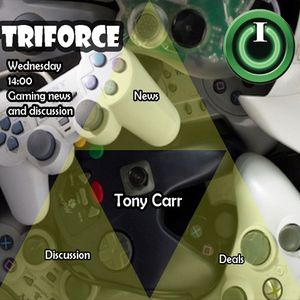 Tri-force with Tony Carr on IO Radio 260717