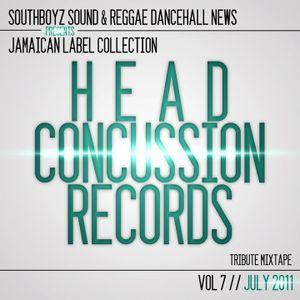 SOUTHBOYZ SOUND - HEAD CONCUSSION RECORDS TRIBUTE MIXTAPE - VOL 7 JULY 2011