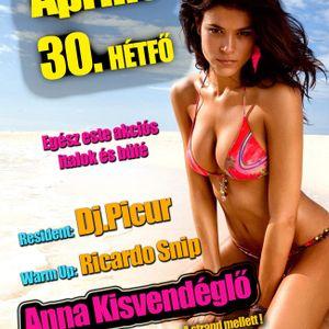 Ricardo Snip @ Polgár - Anna Kisvendéglő (2012.04.30.) part 2