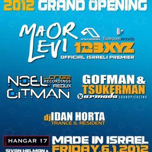 Oleg Gitman @ Made In Israel,Hangar 17 06/01/2012