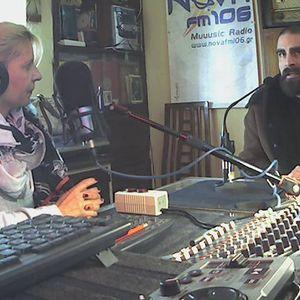 Ennitime is a good time - Enni Leventi + Nikos Fytas on NovaFM106