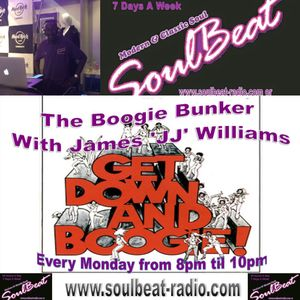 JJ's Boogie Bunker on Soulbeat Mix Show, 8th February 2016 8-10pm(GMT).