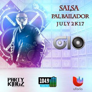 @DEEJAYGIO - SALSA PAL BAILADOR - JULY 2K17
