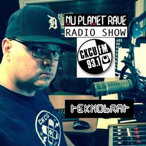 TEKNOBRAT live on The Nu Planet Rave Radio Show Episode 049 part 1 & 2 on CKCU 93.1 FM Ottawa CANADA
