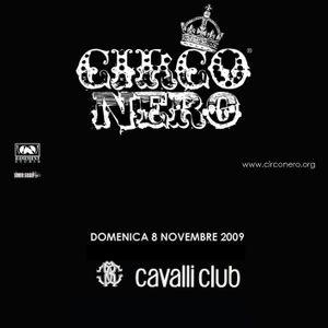 simone sassoli - CIRCO NERO preview @ Cavalli Club - 08nov2009