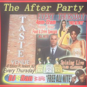 NJPAC AfterParty Taste Venue Promo Mix (@djt4real) (7-5-2016)