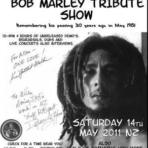 2011-05-14 KFM Radio - DJ Allen - Bob Marley Tribute - New Zealand