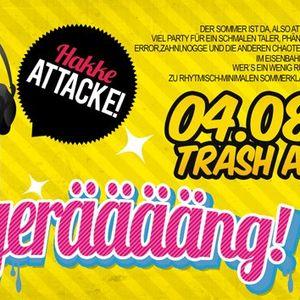 Miss_MissGeSchick @ Bängerääng! Hakke Attacke zu Gulaschs B-Day Bash, Trash Gera 2012