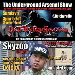 The Underground Arsenal Show with Special Guest Skyzoo