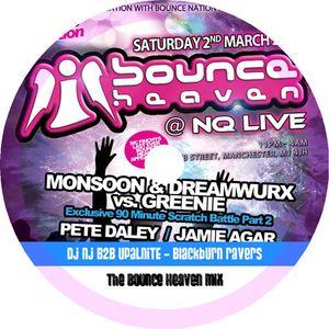 DJ NJ b2b Upalnite - Bounce Heaven Mix