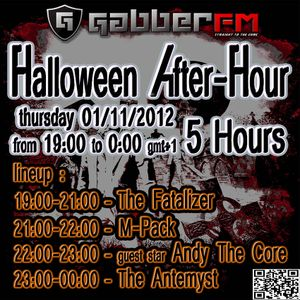 the Antemyst - Gabber.fm Halloween After-Hour 01-11-2012