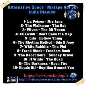Alternative Songs- Mixtape Vol 52 / Indie Playlist