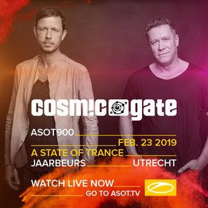 Cosmic Gate - Live at A State of Trance 900 Festival, Mainstage 2019 #ASOT900