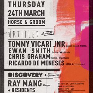 Ray Mang Testpressing mix /  Horse and Groom Easter disco 24/3