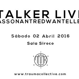 REDWAN AT  @ TRAUMA #06 (Madrid, 02.04.16)