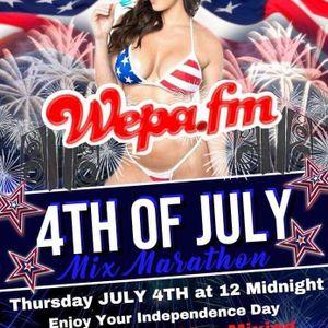 DPR & Wepa.fm presents the 4th of July 24 hour Mixathon with DJ Avy Gonzalez