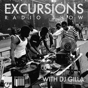 Excursions Radio Show #14 with DJ Gilla - Oct 2012