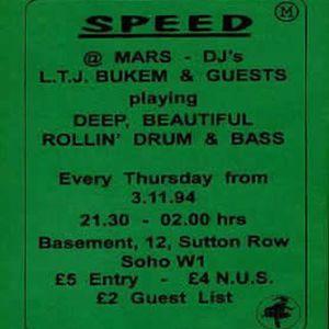 Fabio & Conrad - Live @ SPEED (1995) [Side A]