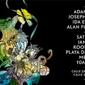 Alan Fitzpatrick - Live at DRUMCODE (BPM, Kool Beach, Playa Del Carmen) 11-01-2014