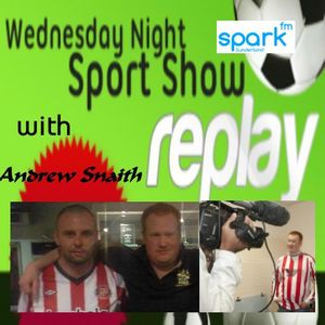 25/1/12- 9pm- The Wednesday Night Sports Show with Andrew Snaith