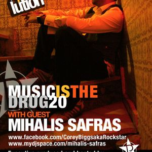 Corey Biggs Aka Rockstar - Music is the Drug 020 with guest Mihalis Safras