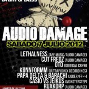 KONNFORMM@Audio Damage - MonsterStep A.C.(La Nave 34 Fuengirola)