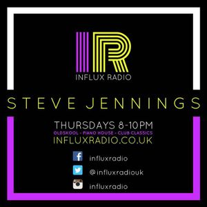 Steve Jennings live @ Influx Radio - Throwback Thursday #6 9th March '17