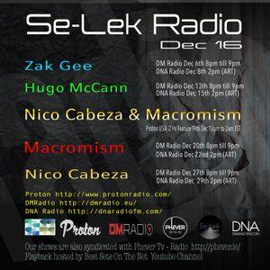 Zak Gee - Se-lek Radio mix 6th Dec 2016