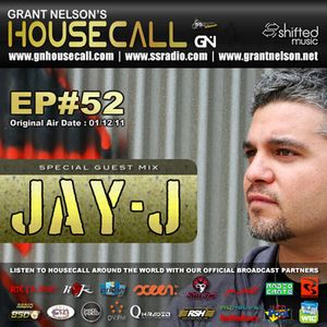 Housecall EP#52 (01/12/11) - incl. a guest mix from Jay-J