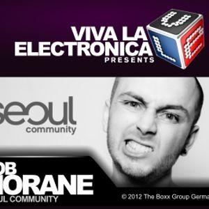 Viva la Electronica pres Bob Morane (Seoul Community)