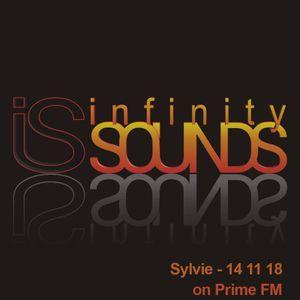 (Primefm) Infinity Sounds - live Sylvie (14-11-18)
