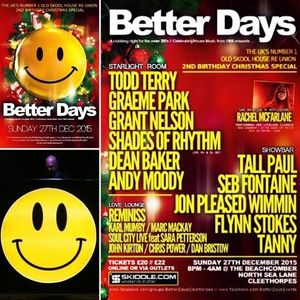 Andy Moody - Better Days 2nd Birthday promo