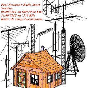 Paul Newman's Radio Shack, Sun 31st Jan 2016 on Radio Mi Amigo International (6005 KHz)