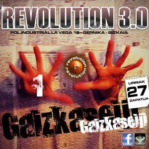 Gaizkaseiji@revolution 3.0 - 27-10-2012 - 1º