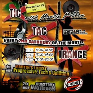 Tic Tac Trance #035 with guest Wojtreek