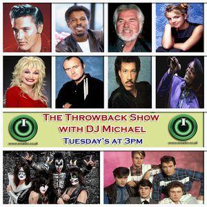 The Throwback Show with DJ Michael Rowland on IO Radio