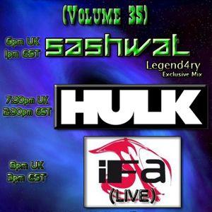 DJ Sashwat, HULK, & iFa - Dank 'N' Dirty Dubz (Volume 35)