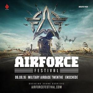 X-ite Project live @ Airforce festival 2016 06.08.16 (Twente - Enschede)