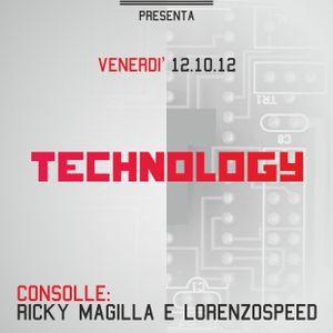 RiCKY MAGiLLA & LORENZOSPEED Live @ TECHNOLOGY 12_10_2012 part 3