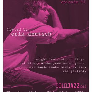 The Sounds of Brooklyn & Beyond episode 93. hosted by Erik Deutsch for Sólo Jazz